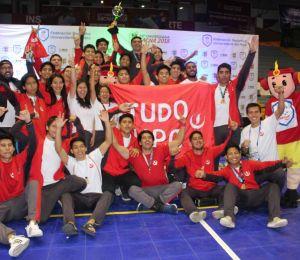 ¡UPC, IPPON y Campeón de Judo Universitario!