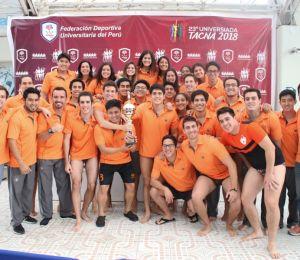 ¡Universidad de Lima, monarca de la natación!