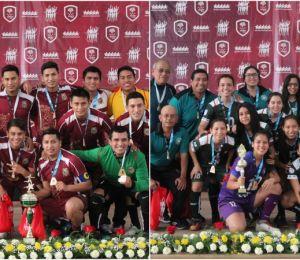 ¡Los nuevos Reyes y Reinas del Futsal Universitario!