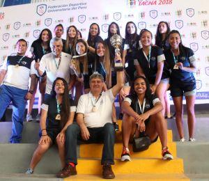 ¡USIL, las reinas del voleibol universitario!